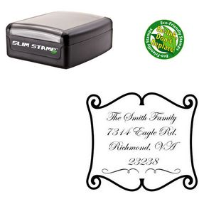 Slimline Custom Wedding Stamp Custom Wedding Stamp