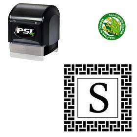 PSI Pre-Ink Calisto Initials Stamp