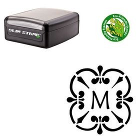 Slim Pre-Ink Maiandra Rubber Initial Stamp