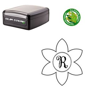 Slimline Gigi Custom Made Rubber Initial Stamp