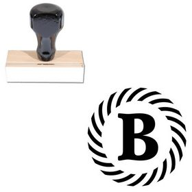 Schneidler Custom Made Monogram Initial Stamp