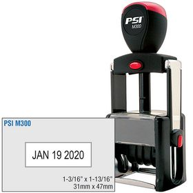 Self Inking Date Stamp 1-3/16 x 1-13/16
