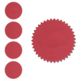 Red Foil Seals Qty 40