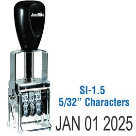Self Inking Date Stamp 5/32 Characters