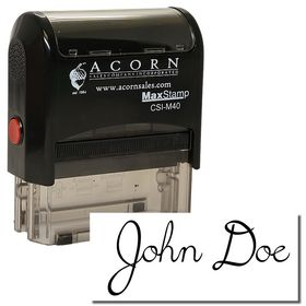 Self Inking Signature Stamp