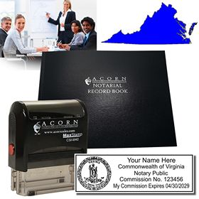 Quick Start Notary Combo - For Virginia Notaries