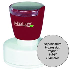 MaxLight XL2-535 Pre Inked Stamp 1-5/8 Diameter