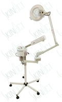 Facial Ozone Steamer & 5 Diopter Magnifying Lamp