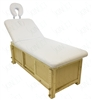 Massage Bed Table with Storage & Backlift