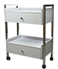 Salon Trolley Cart with 2 Drawers