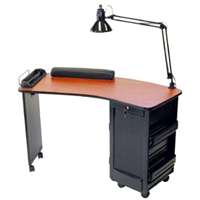 Boomerang Manicure Table from Dina Meri
