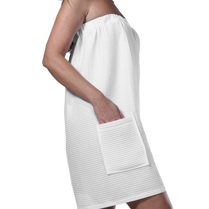 Womens Terry Cloth Bath Wrap