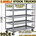 SHELF TRUCKS & WAREHOUSE STOCK TRUCKS 99CE