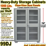 STEEL STORAGE CABINETS / 99DJ