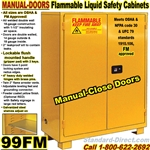 FLAMMABLE LIQUID SAFETY CABINETS 99FM
