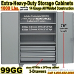 STEEL STORAGE CABINETWITH DRAWERS / 99GG