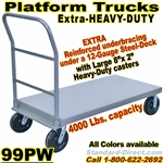 STEEL PLATFORM TRUCKS 99PW