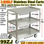 STAINLESS STEEL CARTS / 99ZJ
