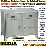 STAINLESS STEEL BENCH CABINETS / 99ZUA