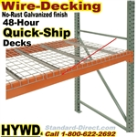 Quick Ship Pallet Rack Wire Decking / HYWD