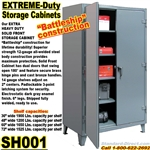 Extreme Duty Steel Storage Cabinets / SH001