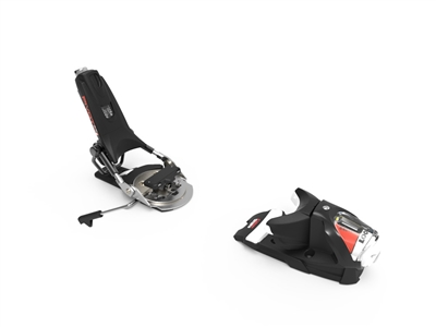 picture of the Look white Pivot 14 mogul ski binding