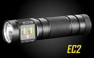 Nitecore EC2 410 Lumens CREE XP-G2 R5 LED Flashlight