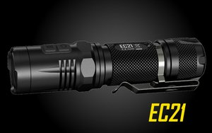 NITECORE EC21 Explorer LED Flashlight 460 Lumen