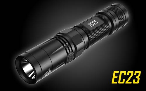 NITECORE EC23 1800 Lumen High Performance Compact Everyday Carry LED Flashlight