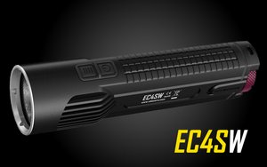 Nitecore Explorer EC4SW Die-Cast Cree MT-G2 LED Flashlight - 2000 Lumen