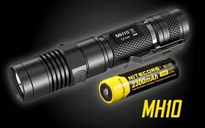 Nitecore MH10  Compact USB Rechargeable LED Flashlight w/ Battery-1000 Lumen
