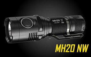 Nitecore MH20 the Smallest Lightest Rechargeable LED Flashlight neutral white-1000 Lumen