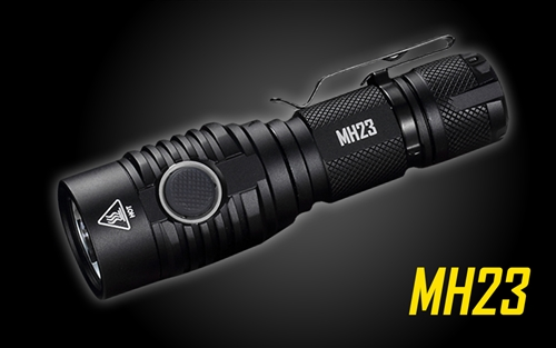 NITECORE MH23 1800 Lumen USB Rechargeable Compact Mini Flashlight