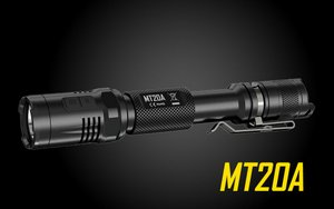 Nitecore Multi-Task MT20A CREE XP-G2 R5 LED Light