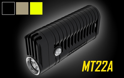 Nitecore MT22A Multi-Task 260 Lumen 2xAA Battery Powered Compact LED Flashlight