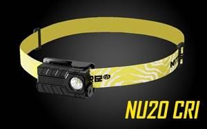 Nitecore NU20 CRI USB Rechargeable Headlamp