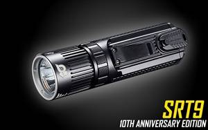 NITECORE SRT9 10th Anniversary Edition 2150 Lumen Multi-LED Smartring Tactical Flashlight
