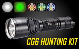 Nitecore Chameleon CG6 Green/White Hunting Kit
