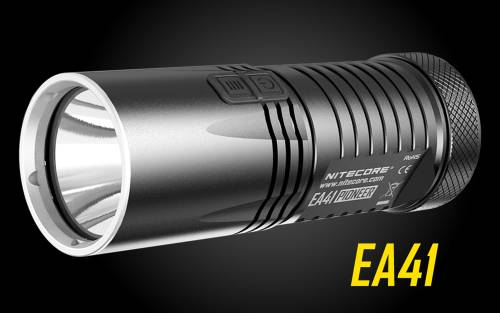Nitecore EA41 1020 Lumens LED Flashlight - Uses 4xAA