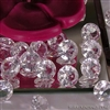Acrylic cut diamonds 25mm