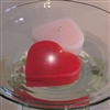 "3"" Floating classic heart candle"