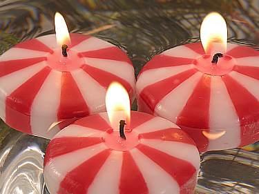 Christmas Candle Centerpiece Ideas