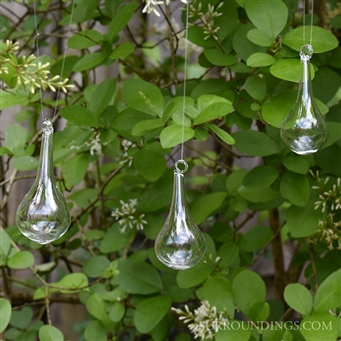 glass dew drops