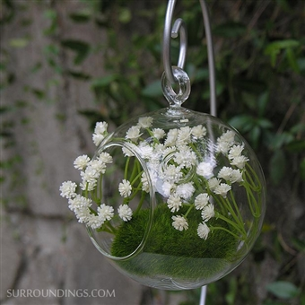Hanging bubble vase