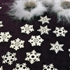Glittered Snowflakes / 24