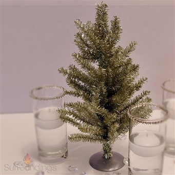 Tinsel Table Tree