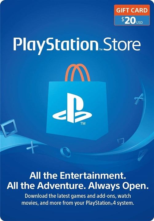 Buy $20 Playstation Network Gift Card (US PSN Cards) Code