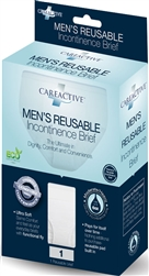 CareActive Men's Reusable Incontinence Briefs