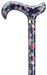 Blue Bouquet Ladies Derby Cane