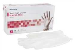 McKesson Vinyl Exam Gloves